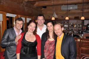 Carmen s'invite au Restaurant Les Berges du Windigo.