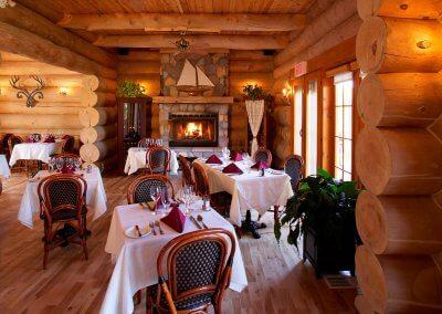 Salle à manger restaurant Les Berges