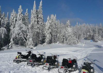 Balades Motos Neige Canada