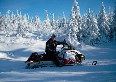 Snowmobile Le Windigo Baskatong