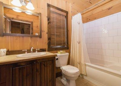 salle de bain chalet windigo